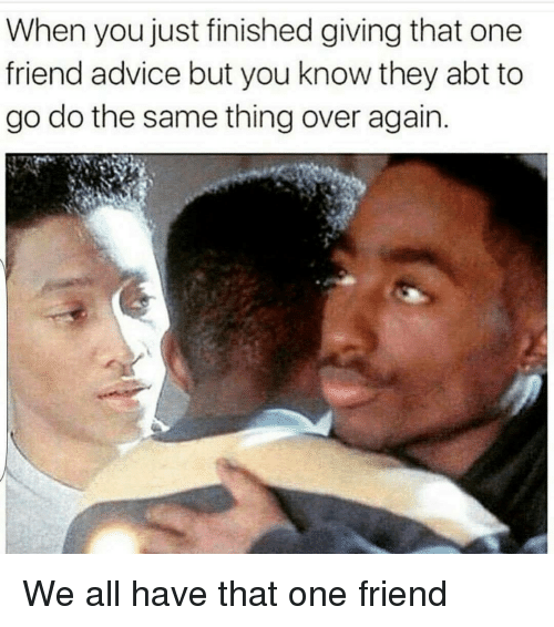How To Give A Friend Dating Advice