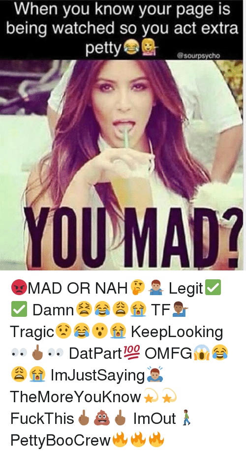 when you know your page is being watched so you 13908938 🔥 25 best memes about mad or nah mad or nah memes