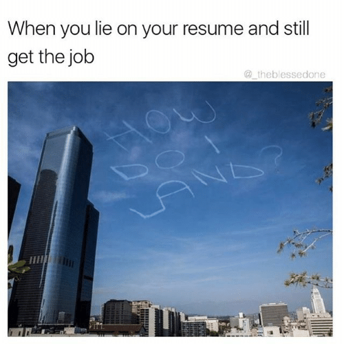funny resume memes of 2017 on sizzle