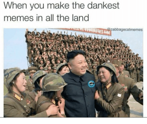 Dank, 🤖, and  the Land: When you make the dankest  memes in all the land  abbagecat memes