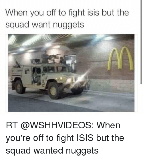 Quorn Nuggets Advert: Funny ISIS And Squad Memes Of 2016 On SIZZLE