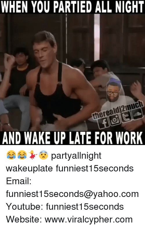 Funny Late For Work Meme : When you re late for work tired and hungover from the