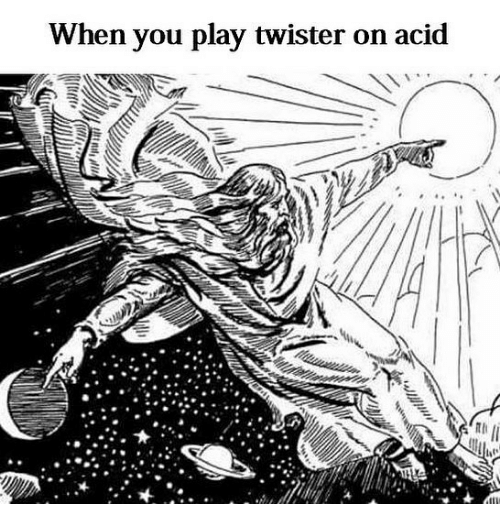 Classical Art, Twister, and Acid: When you play twister on acid