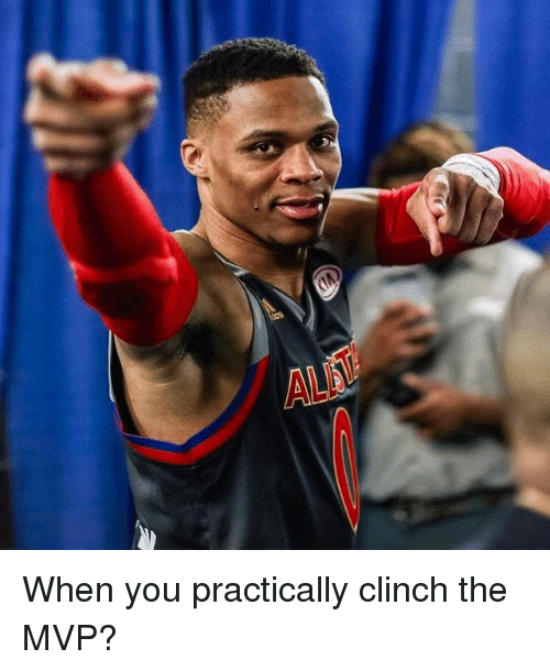 Memes, 🤖, and Mvp: When you practically clinch the MVP?
