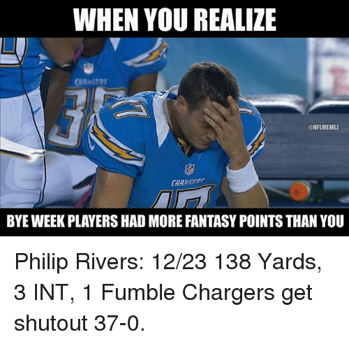 San Diego Chargers Bye Week 2014: 25+ Best Memes About Philip Rivers