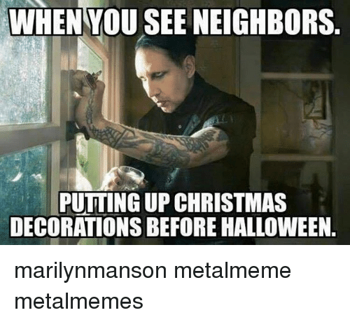 Funny Christmas Decorating Meme : Funny marilynmanson memes of on sizzle spiked