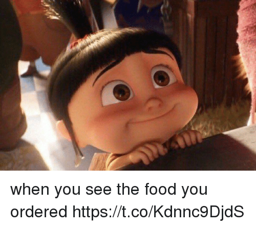 Food, Funny, and Awkward: when you see the food you ordered https://t.co/Kdnnc9DjdS