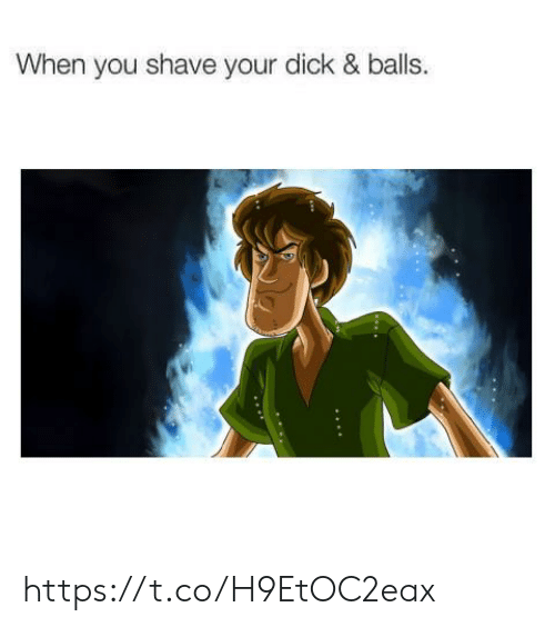 shave: When you shave your dick & balls. https://t.co/H9EtOC2eax