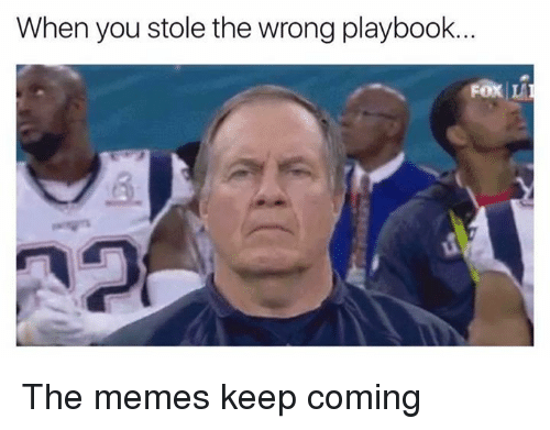 Memes, Dank Memes, and Fox: When you stole the wrong playbook.  Fox LA The memes keep coming