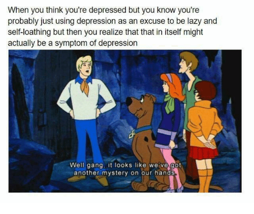 how to know you re in depression