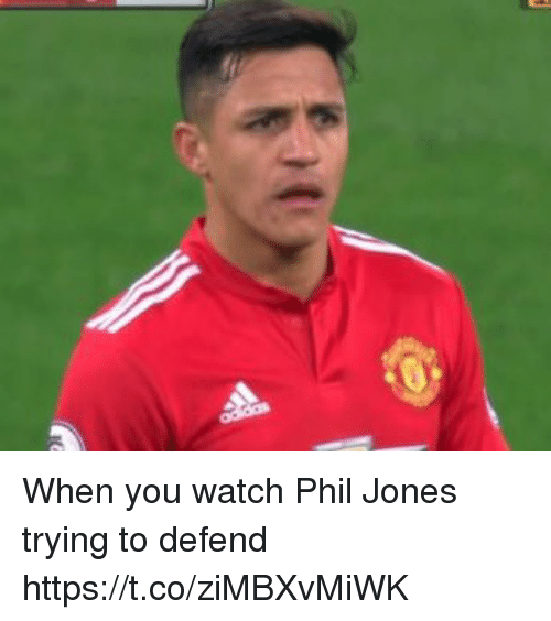 Soccer, Watch, and You: When you watch Phil Jones trying to defend https://t.co/ziMBXvMiWK