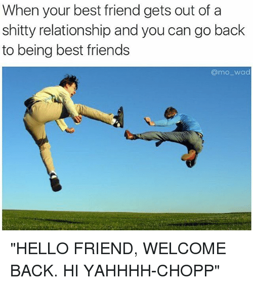 Relationship with your best friend