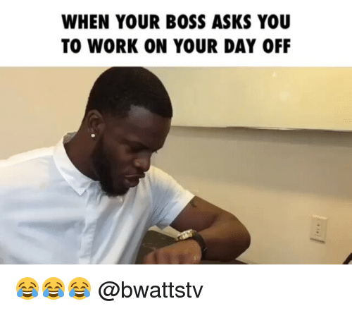 how to ask for days off work