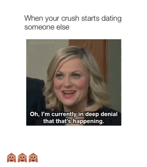 What to do when someone is dating your crush