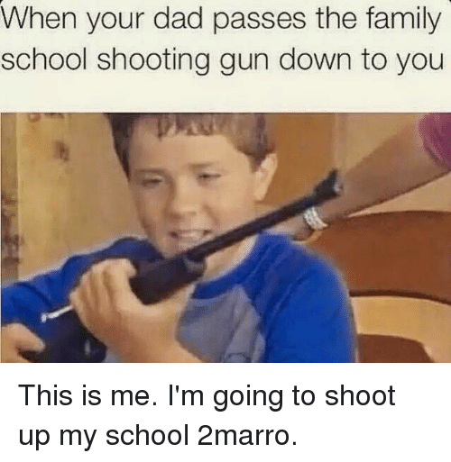 School Shooting Revolver: 25+ Best Memes About Guns, Family, School, And Dank Memes