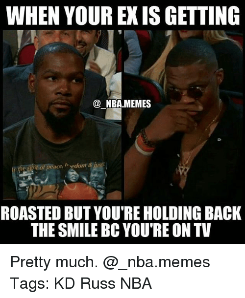 Funny Memes For Your Ex : When your ex is getting nbamemes he suit of peace edom ius