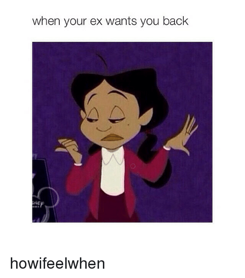Funny Memes For Your Ex : When your ex wants you back howifeelwhen funny meme on