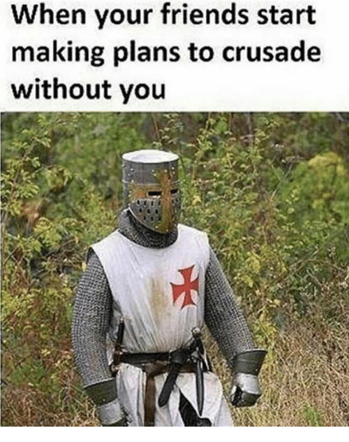 Funny Crusader Memes of 2017 on SIZZLE | Crusading