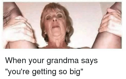 image Granny says fucking is the best medicine