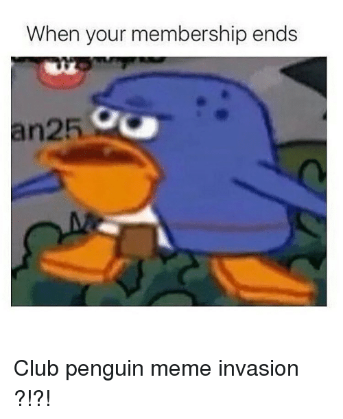 how to get free clubpenguin membership meme