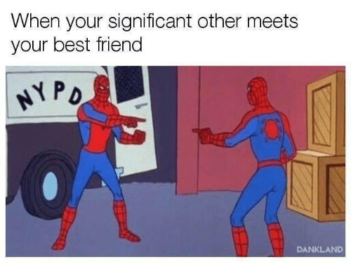 Best Friend, Best, and Friend: When your significant other meets  your best friend  PD  DANKLAND