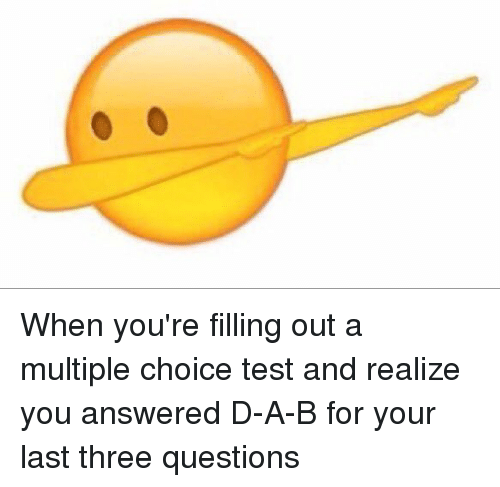 how to answer multiple choice questions correctly