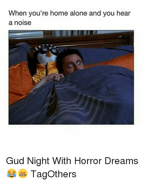 ... Hear a Noise Gud Night With Horror Dreams 😂😁 TagOthers | SIZZLE
