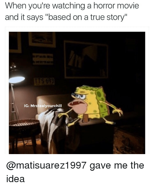 After Watching A Scary Movie Meme
