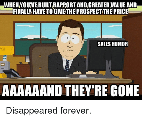 Pricing Meme: WHEN YOUVEBUILTRARRORTANDICREATED VALUE AND FINALLY