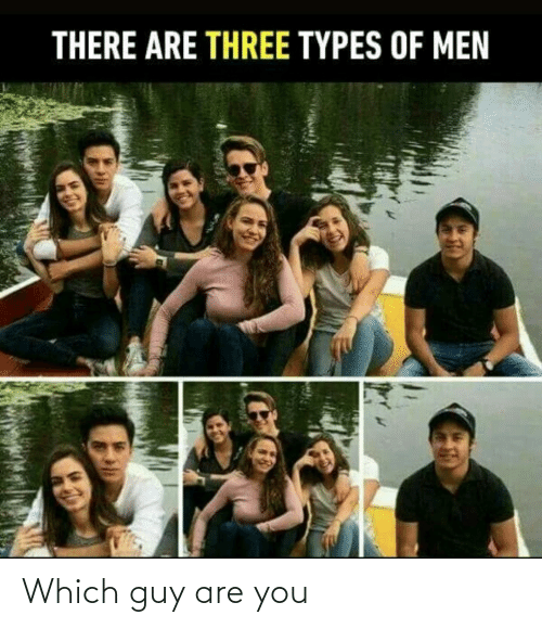 Which: Which guy are you