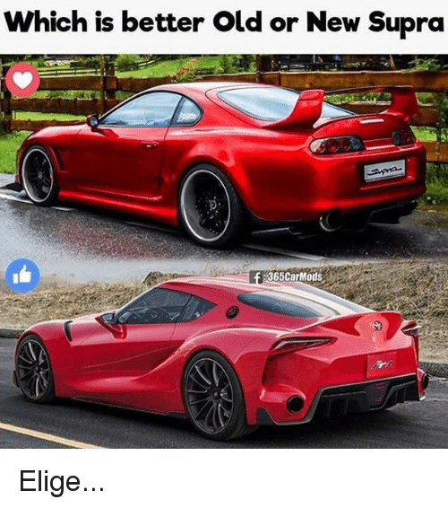 Which Is Better Old Or New Supra 365CarMods Elige