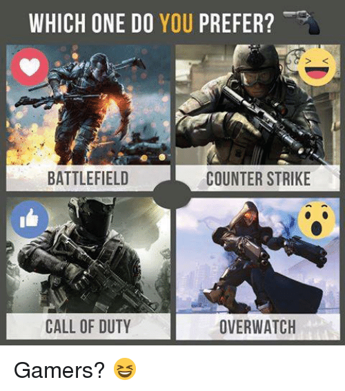 a comparison of fps games call of duty and counter strike The goal of /r/games is to provide a place for informative and interesting gaming  content and discussions submissions should be for the.