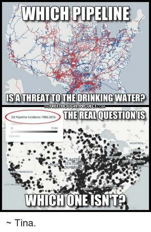 which pipeline isathreat to the drinking waterp freethought project the 8664683 which pipeline isathreat to the drinking waterp freethought,Pipeline Meme