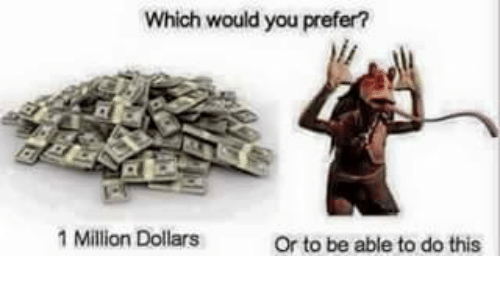 what would u do with a million dollars