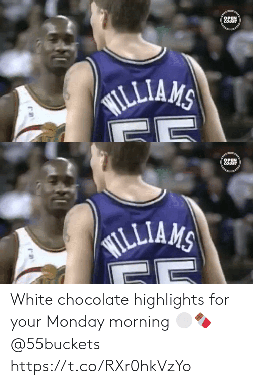 White People: White chocolate highlights for your Monday morning ⚪️🍫 @55buckets https://t.co/RXr0hkVzYo