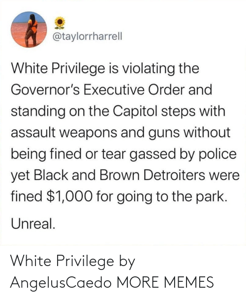 privilege: White Privilege by AngelusCaedo MORE MEMES