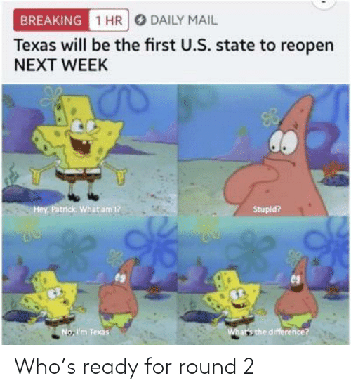 Round 2: Who's ready for round 2