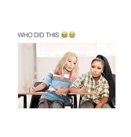 Girl Memes: WHO DID THIS