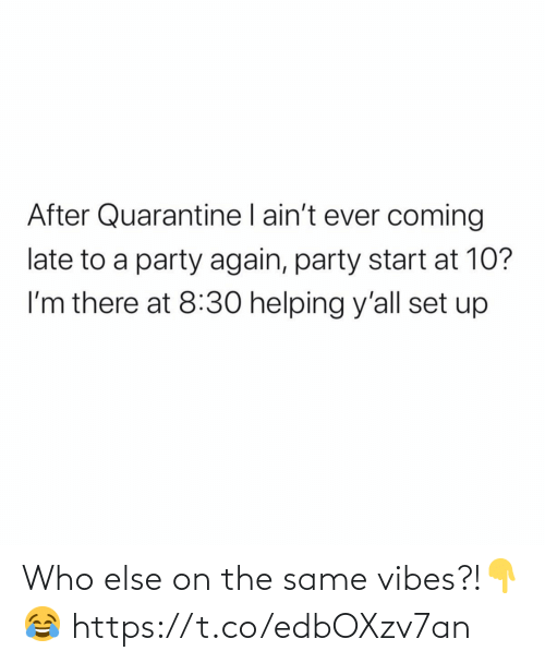 vibes: Who else on the same vibes?!👇😂 https://t.co/edbOXzv7an