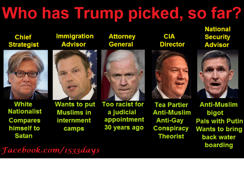 who has trump picked so far national cia chief immigration 6898774 search anti racist memes on me me,Anti Immigration Memes