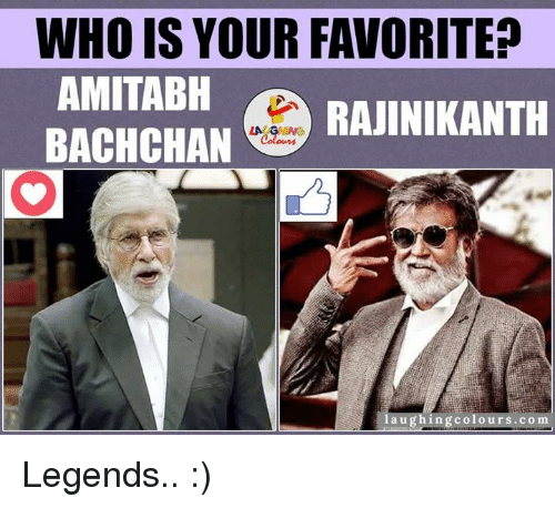 Amitabh Bachchan: WHO IS YOUR FAVORITE?  AMITABH  BACHCHAN  colour  aughingco Legends.. :)