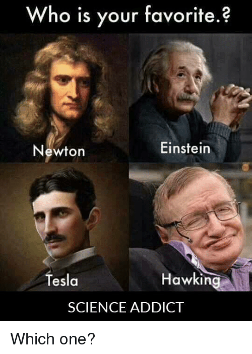 who is your favourite scientist