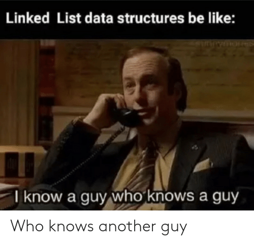 who knows: Who knows another guy