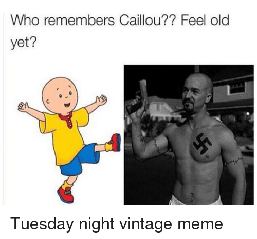 Funny Caillou Memes Of 2017 On SIZZLE