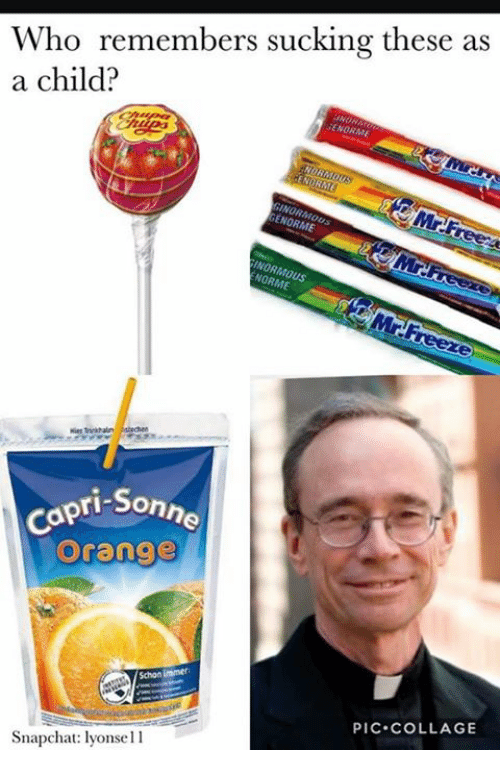 Dank, Chat, and Collage: Who remembers sucking these as  a child?  GENORME  ENORME  INORMau  pri Sonne  Orange  PIC COLLAGE  Snap chat: lyonsell