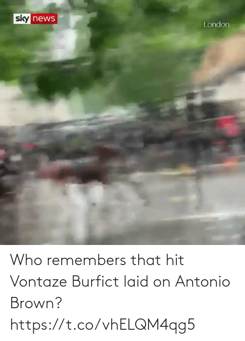 Football: Who remembers that hit Vontaze Burfict laid on Antonio Brown? https://t.co/vhELQM4qg5