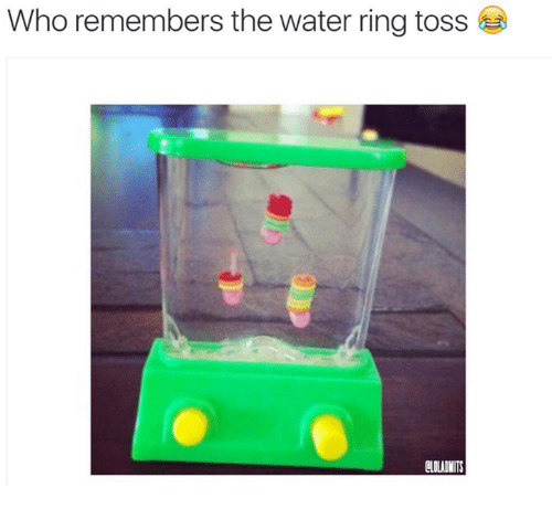ring toss: Who remembers the water ring toss-  CLOLADMITS