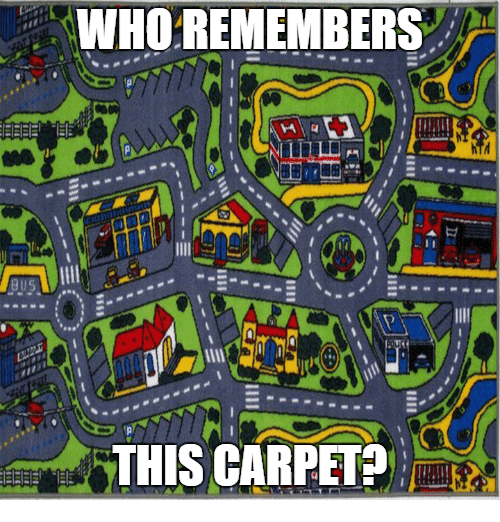 🤖: WHO REMEMBERS  THIS CARPET