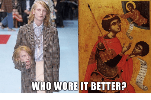Who Wore It Better, Classical Art, and Who: WHO WORE IT BETTER?