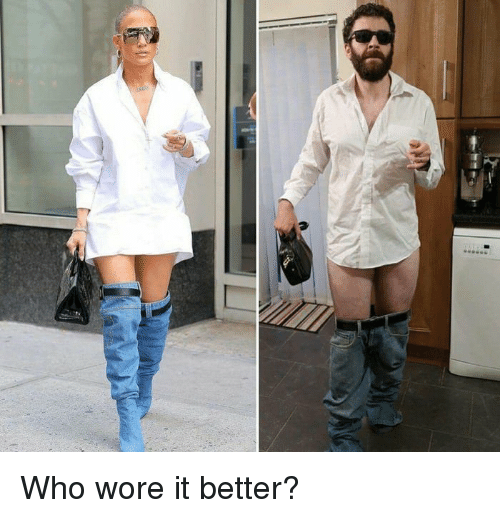 Wore It: Who wore it better?